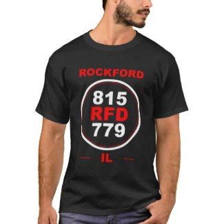 Rockford Area Codes T-Shirt