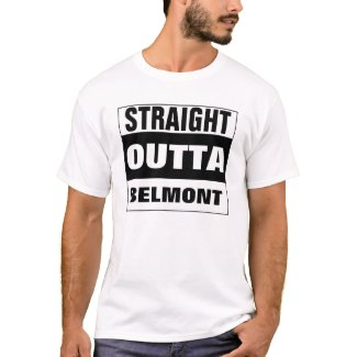Custom STRAIGHT OUTTA T-shirt - add your text here