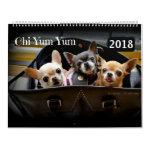 Chi Yum Yum 2018 Calendar