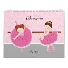 Ballerina Calendar 2017