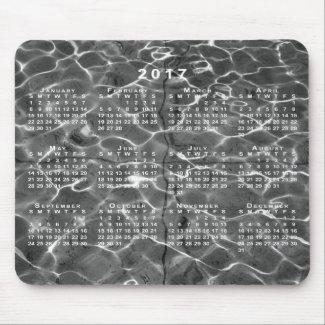 Light Reflections On Water 2017 Calendar Mousepad