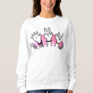 Hands Together Best Friend Sweatshirt
