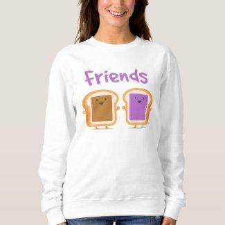 Peanut Butter and Jelly Best Friend Sweatshirt