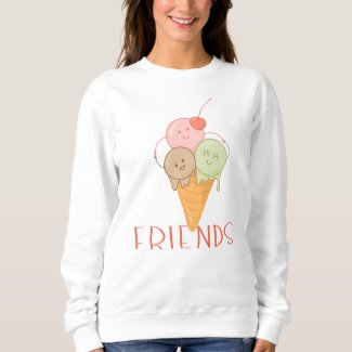 Ice Cream Best Friend Sweatshirt