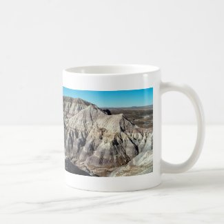 Desert Blue Mesa Badlands Mountains Coffee Mug