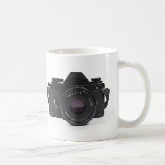 slr photo camera - classic design coffee mug