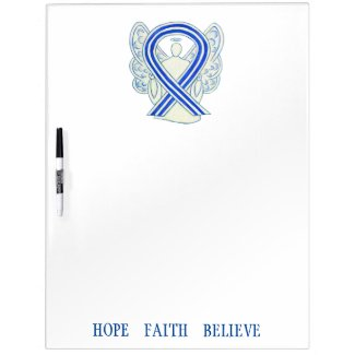 ALS Awareness Ribbon Custom Dry Erase Board