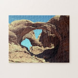 Double Arch Jigsaw Puzzle