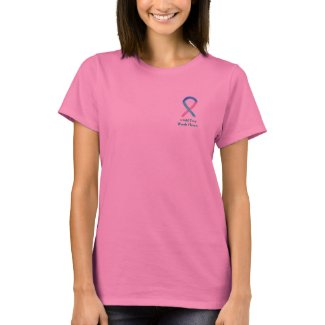 Thyroid Cancer Awareness Ribbon Custom Art Shirts