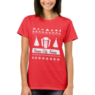 Your City Name Ugly Christmas Sweater Gift Trees Tshirts
