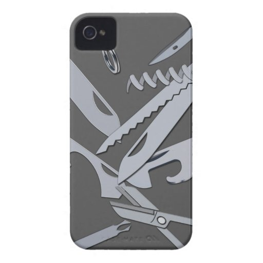 Swiss Army Knife Iphone Case Mate Case Zazzle