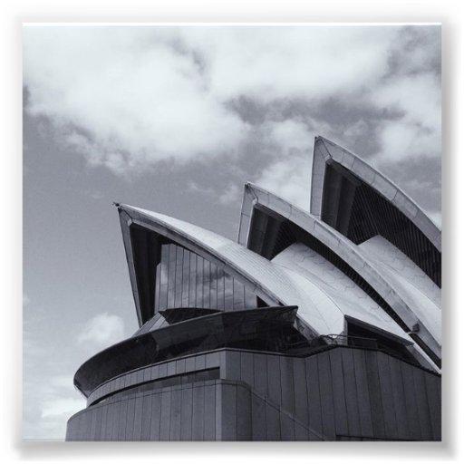 Sydney Opera House Roof Mini Photo Print Zazzle