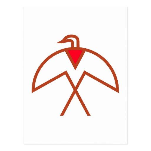 Symbol bird Indian bird native American Postcard   Zazzle