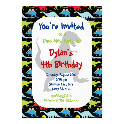 How To T Rex Dinosaur Birthday Party Invitations Today Price Drop And Special Promotion Get The Best BuyHow