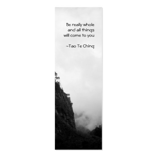 double sided bookmark template - tao te ching no 2 bookmark double sided mini business