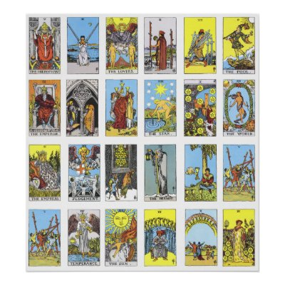 image relating to Printable Tarot called Printable Tarot Playing cards On the internet