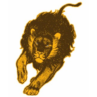 Tau Of The Lions Children T-shirt (gold) shirt