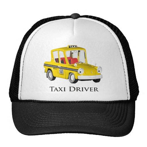 Taxi Driver Trucker Hat | Zazzle
