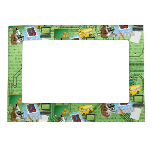 Teachers Math Amp Science Magnetic Frame Zazzle