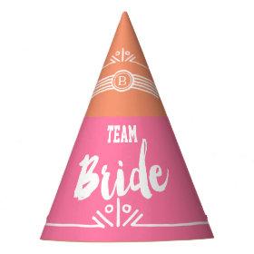 Team Bride Party Hat