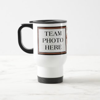 TEAM PHOTO Personalized Basketball Gifts for Coach Stainless Steel Travel Mug