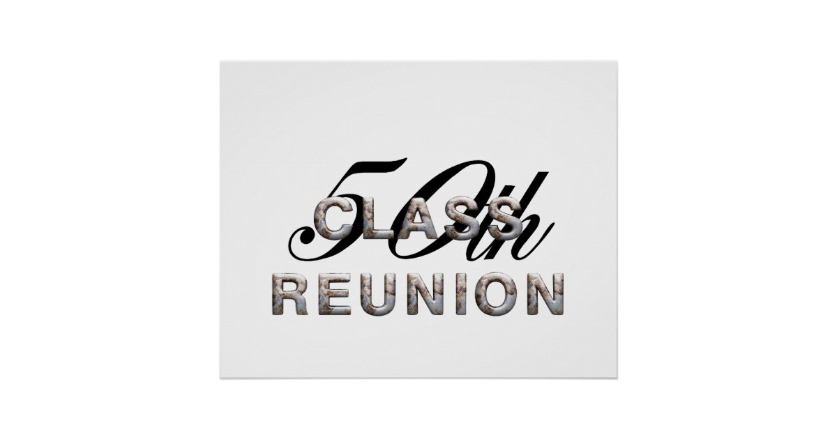 TEE 50th Class Reunion Poster