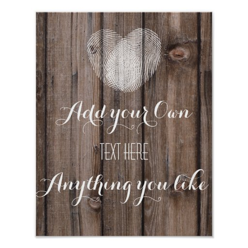 Template Rustic Wood Cards And Gifts Wedding Sign Poster R C C C E C Ca Wvw Byvr on Zazzle Christmas Cards