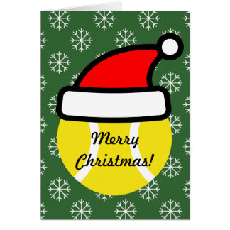 Tennis Holiday Greeting Cards | Zazzle