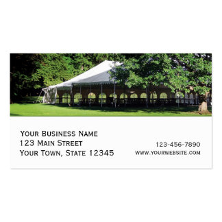 party tent rental business plan