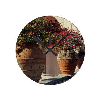 Terra Cotta Wall Clocks Zazzle