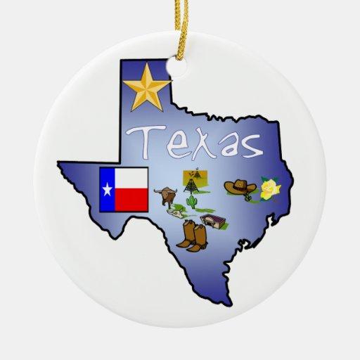 Texas Christmas Ornament | Zazzle