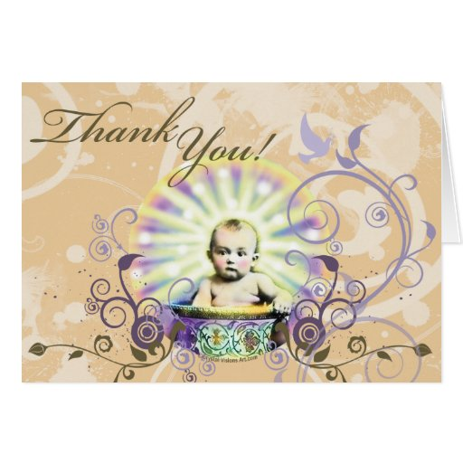 thank you for the baby gift stationery note card  zazzle