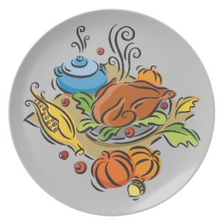 Thanksgiving Turkey - Available at Zazzle