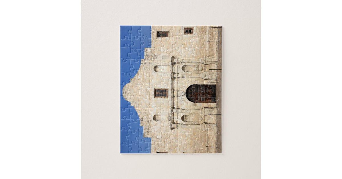 The Alamo Mission In Modern Day San Antonio 3 Jigsaw