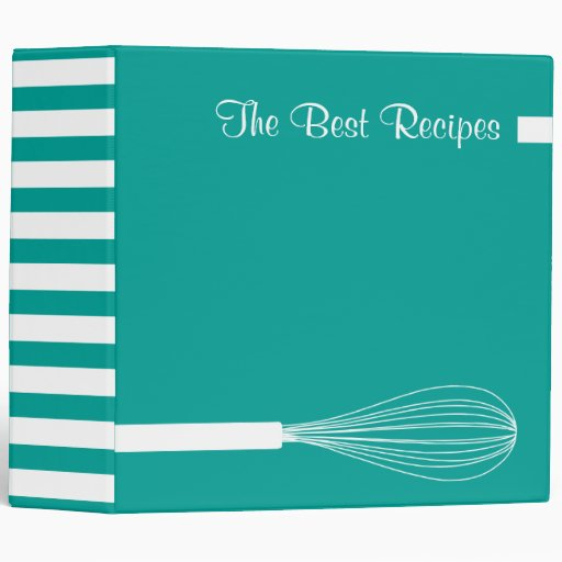 The Best Recipes 3 Ring Binder