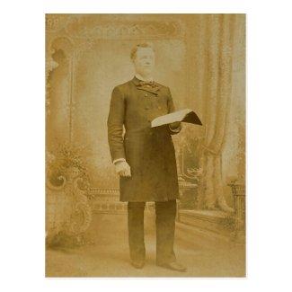 The Esteemed Reverend LAHR, circa 1870
