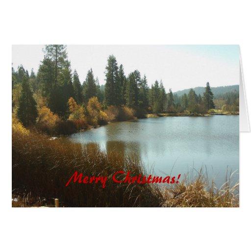 Christmas At The Lake: The Grass Valley Lake Merry Christmas Card