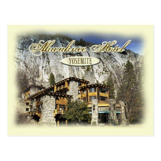 Ahwahnee Hotel Kitchen Yosemite California: The Historic Ahwahnee Hotel, Yosemite, CA Postcard