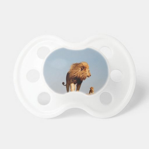 The Lion King Adult Lion And Cub Pacifier Zazzle