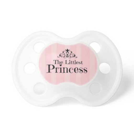The Littlest Princess Baby Girl Pacifier