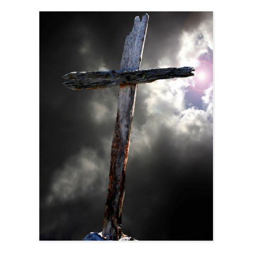 The Old Rugged Cross Postcard