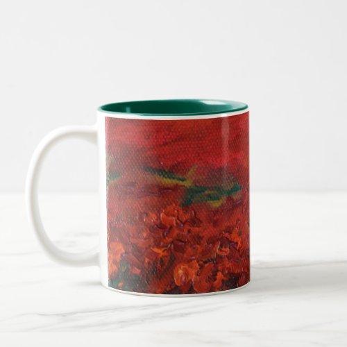 the Poppy Field mug