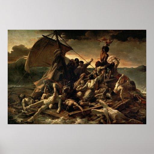 The Raft of the Medusa - Théodore Géricault Poster   Zazzle