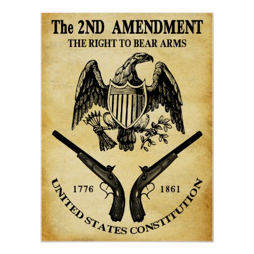 The right to bear arms