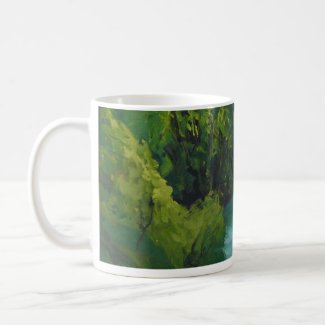the Sorgue River at Fontaine de Vaucluse mug