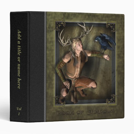 "The Stag Book Of Shadows 1.5"" Avery Binder"