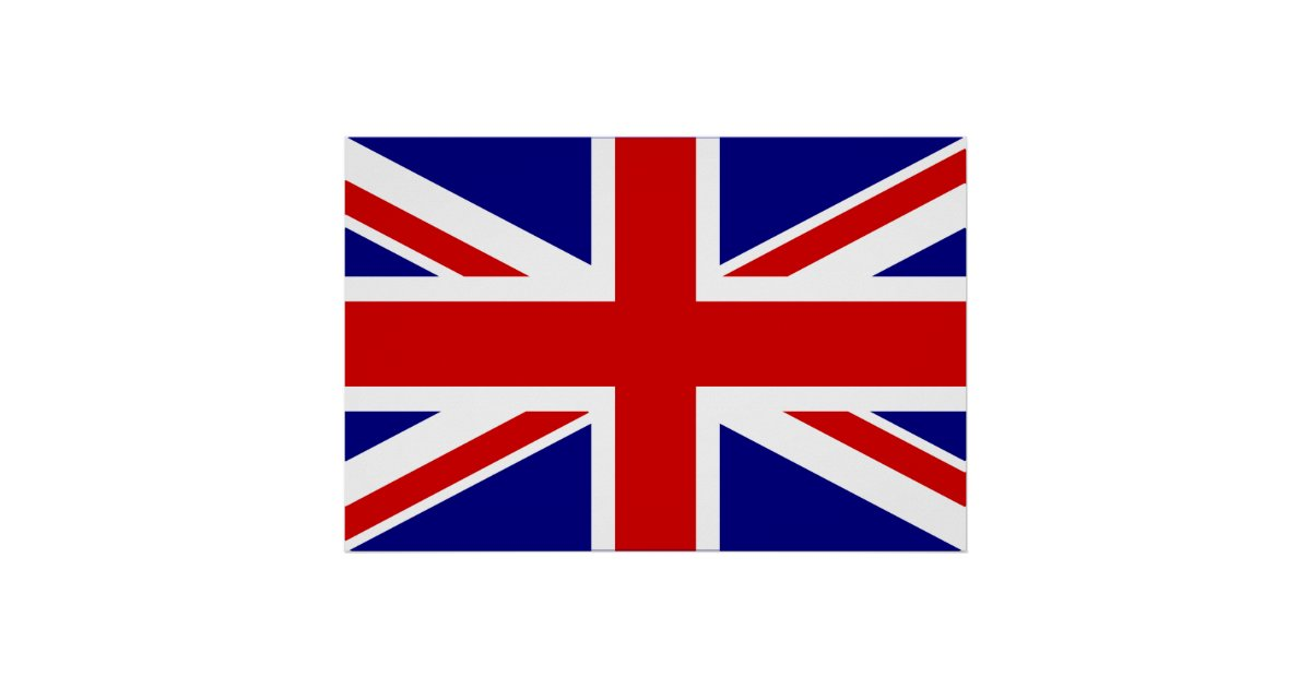The Union Jack Flag Poster Zazzle