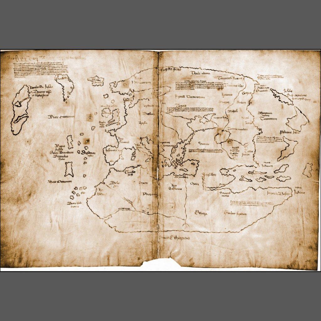 Vinland Map High Resolution Vinland Map High Resolution