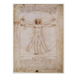 Vitruvian Man Posters | Zazzle