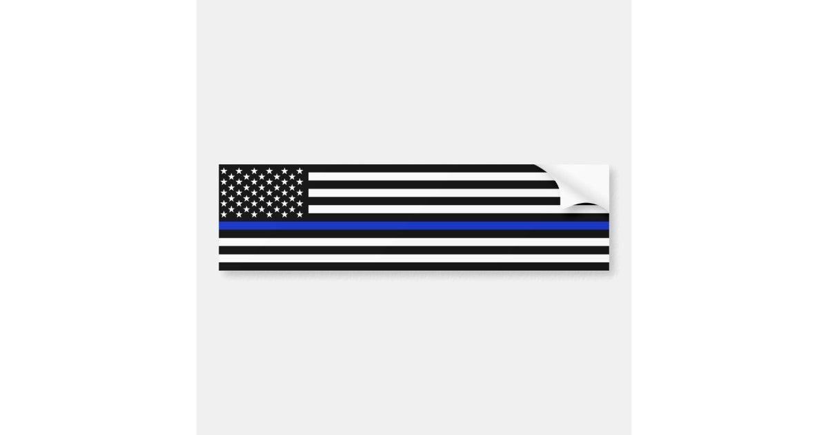 Buy A Thin Blue Line Police Sticker 11
